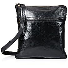 Latico Women's Lexton Cross Body Bag 7801 Black Leather Size OSFA