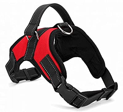 Copatchy No Pull Reflective Adjustable Dog Harness With Handle