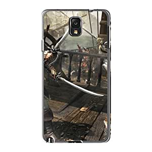 Marycase88 Samsung Galaxy Note3 Perfect Hard Cell-phone Case Support Personal Customs HD Assassins Creed Iv: Black Flag Skin [AWz10166ZWnn]