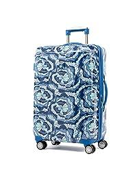 """Atlantic Ultra Lite Hardsides 24"""" Spinner Suitcase, Surf Blue"""