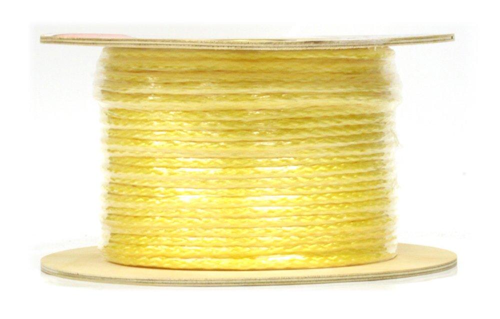 Lehigh HB860 3/8-Inch by 600-Feet Polypropylene Hollow Braid Rope, Yellow