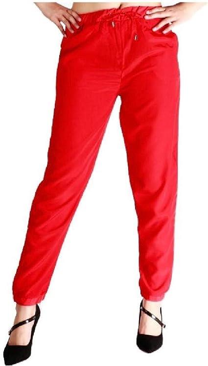 VITryst Womens Girls Elegant Solid Colored Loose Plus Size Trendly Harem Pants