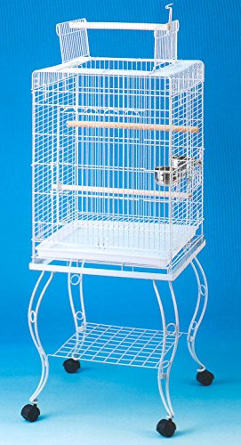 Brand New Open Play Top Parrot Bird Cage With Removable Stand 20x20x58''H by Mcage