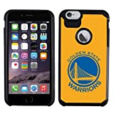 [T.A.G] Apple iPhone 6s Plus 5.5 LCD Premium Authentic Sports Licensed NBA Basketball Team [3D Skin] Pebble Slim Heavy Duty Hybrid Design Armor Anti-Fingerprint Hard Shell Case (Golden State Warriors)