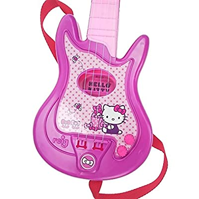 REIG Hello Kitty Guitar and Microphone: Toys & Games