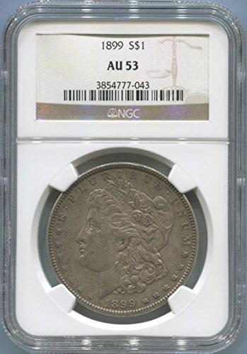1899 P Morgan Dollar Dollar AU53 NGC