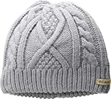 6eed237b0e9 Columbia Women s Cabled Cutie¿ Beanie Astral One Size (6 1 2-7 1 2)