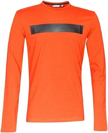 Antony Morato Camiseta Hombre Manga Larga MMKL00274-FA120001 ...