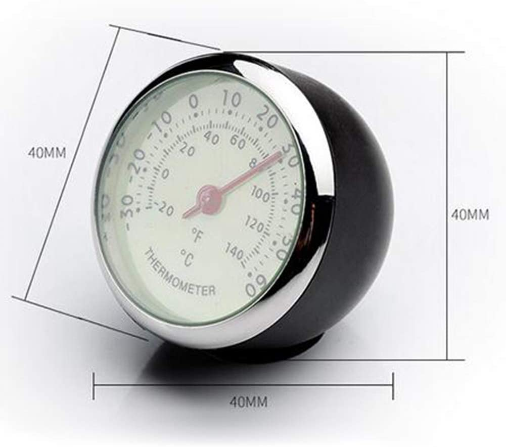 PinShang Mini Car Automobile Clock//Humidity Meter Decoration Clock//Auto Automotive Thermometer Luminous