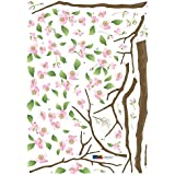 Cherry Blossoms Repositional Wall Decal