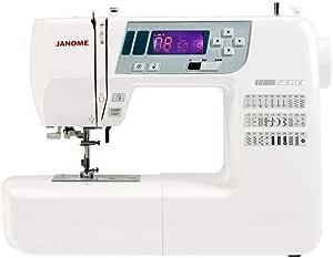 Máquina de coser Janome 230 DC ordenador: Amazon.es: Hogar
