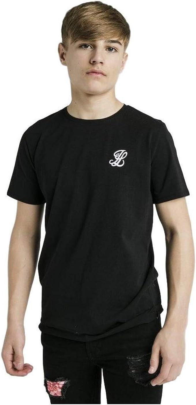 Illusive London Camiseta Niño Fade Negro: Amazon.es: Ropa y accesorios