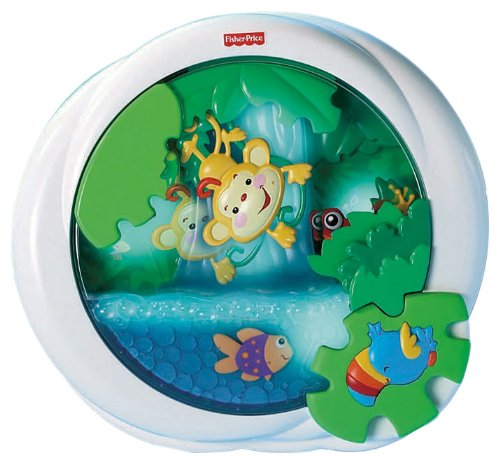 Fisher-Price Rainforest Waterfall Peek-a-Boo Soother, Baby & Kids Zone