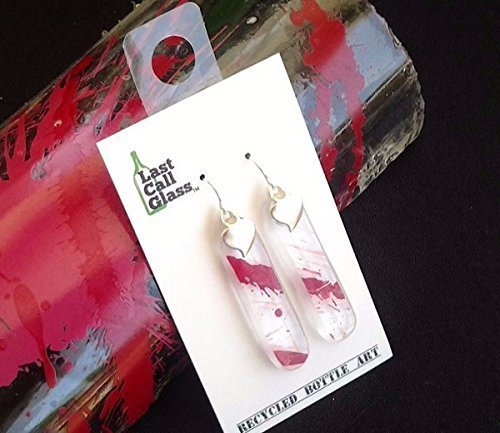 recycled-glass-earrings-made-from-a-discarded-absolut-raspeberry-bottle