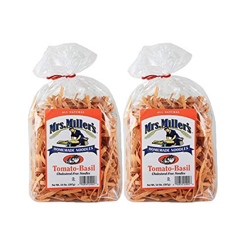 Mrs. Millers Homemade Tomato-Basil Noodles 14 oz. Bag (2 Bags)