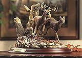 Autumn Run - WTD Sculpture by Terry Redlin