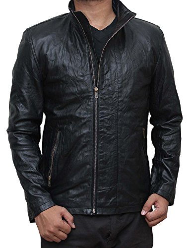 Fjackets Tom Cruise Rogue Nation Mission Impossible 5 Movie Real Leather Costume Jacket - Rider Tom Costume