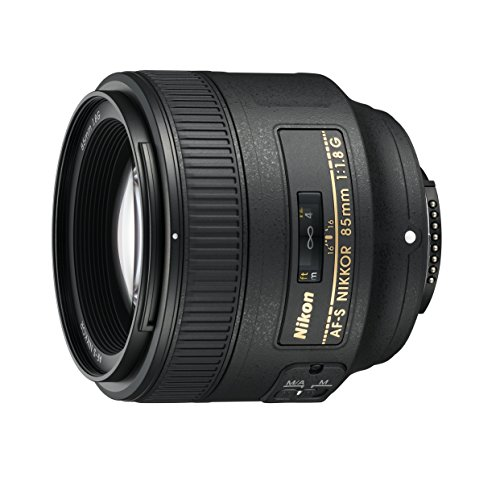 Nikon AF FX NIKKOR 85mm f/1.8G Fixed Lens with Auto Focus for Nikon DSLR Cameras