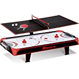 44 inch Air Powered Hockey Table Top Game with Table Tennis Top with APP Scorer