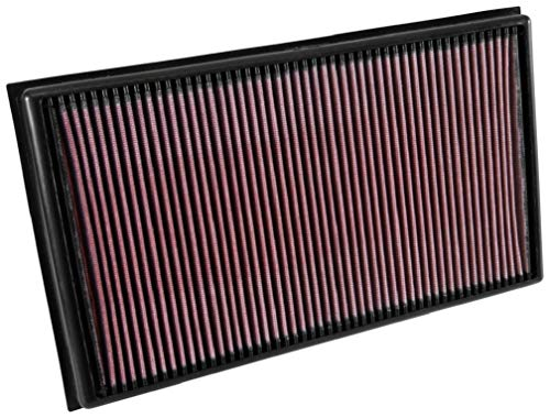 K&N Engine Air Filter: High Performance, Premium, Washable, Replacement Filter: 2015-2019 VOLKSWAGEN/AUDI (Arteon, Tiguan II, Passat, RS3, TT RS) , 33-3036