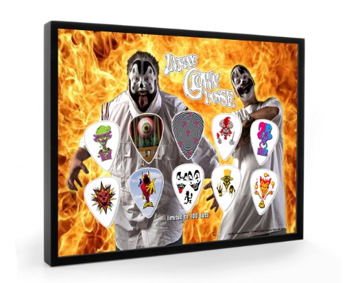 Insane Clown Pose Limited to 100 Framed Guitar Plectrum Display