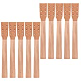Kmise Acoustic Guitar Neck for Martin Parts Replacement Luthier Repair DIY Unfinished Mahogany Head Veneer 10 Pcs