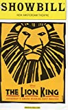 img - for THE LION KING Showbill (Playbill) - New Amsterdam Theatre - August 2004 book / textbook / text book