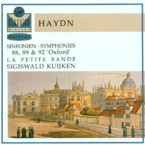 Franz Joseph Haydn: Symphonies 88, 89 & 92 Oxford - La Petite Bande (2004-11-18)