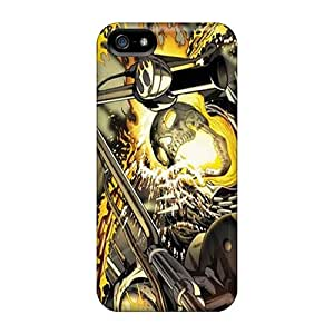 New NicoECx Super Strong Ghost Rider Tpu Case Cover For Iphone 5/5s