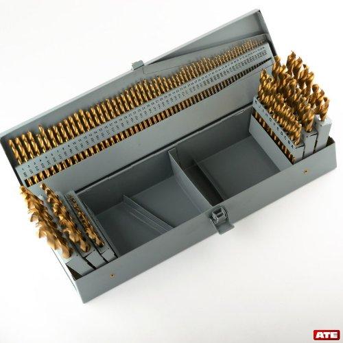 115 Pcs H.S.S Drill Bit Set