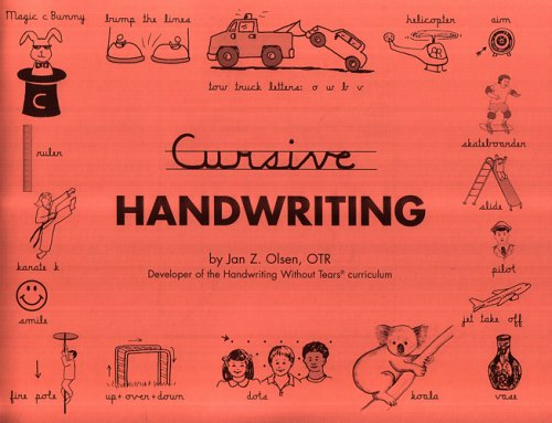 Cursive Handwriting - Contracted Edition: Jan Olsen: 9781891627040:  Amazon.com: Books