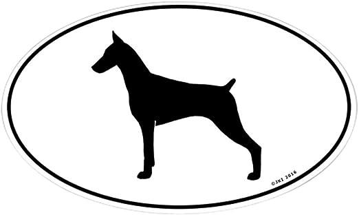 Dog Doberman Car Decal Vinyl Sticker For Window Bumper Panel