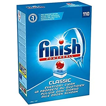 Finish Classic - Comprimidos para lavavajillas (110 unidades ...