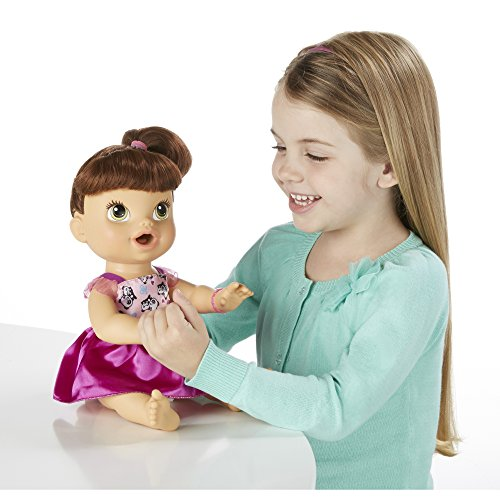 51bfSU3EHnL - Baby Alive My Baby All Gone Doll, Brunette (Discontinued by manufacturer)