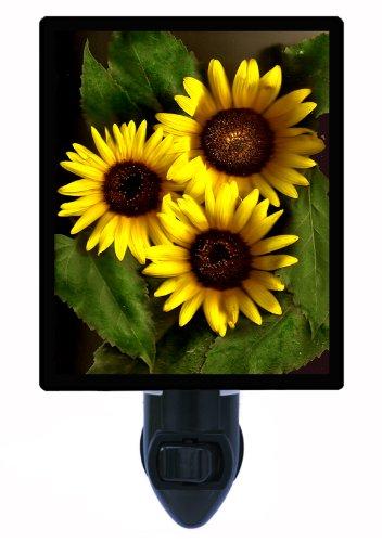 Floral Night Light - Organics Sunflower