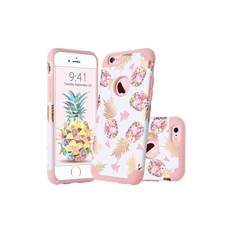 GUAGUA iPhone 6S Case iPhone 6 Case Girl