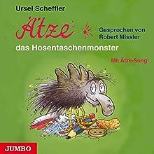 Ätze, das Hosentaschenmonster (Ätze 2) Hörbuch von Ursel Scheffler Gesprochen von: Robert Missler