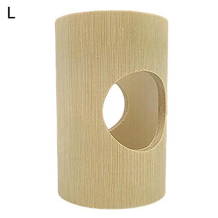 LEUM SHOP 2/4 Agujeros para hámster de Mascotas, Ardilla de bambú ...