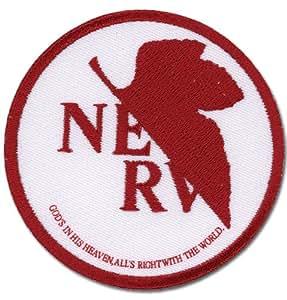 Neon Genesis Evangelion NERV Parche