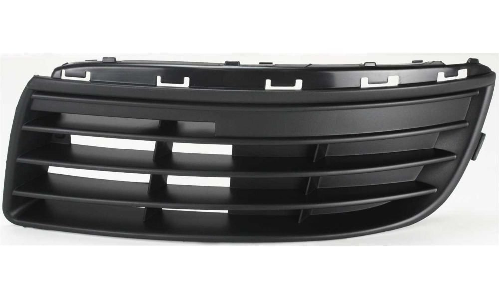 DAT AUTO PARTS Front Bumper Cover Grille Replacement for 05-10 Volkswagen Jetta Grill Black Without Fog Light Holes Left Driver Side VW1036108