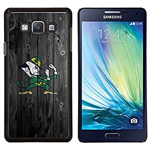 TECHCASE---Cubierta de la caja de protección para la piel dura ** Samsung Galaxy A7 ( A7000 ) ** --Notre Dame Fighting Equipo