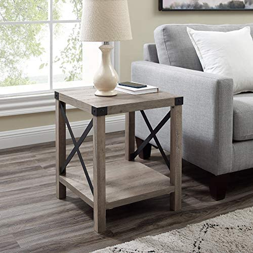 Cheap Thomas 18 Inch Metal X Side Table living room table for sale
