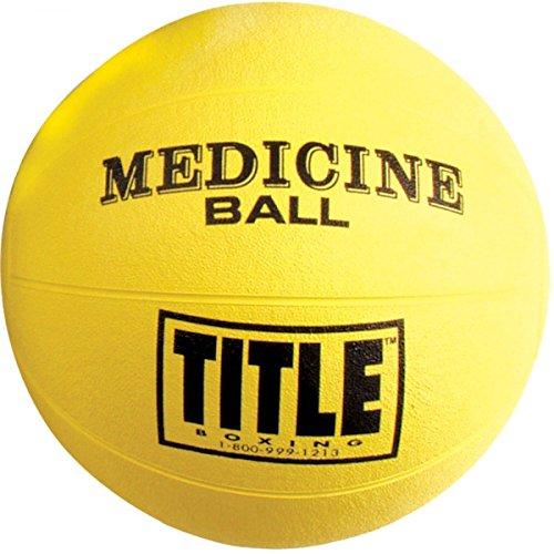 TITLE BOXING MAX-GRIP RUBBER MEDICINE BALLS