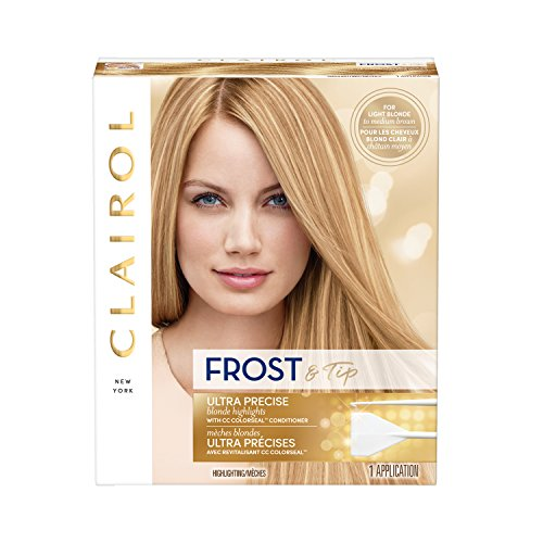 Clairol Nice n Easy Frost & Tip Original Precision Blond Highlights Hair Color Kit (Pack of 3), For Light Blond to Medium Brown Hair (PACKAGING MAY VARY)