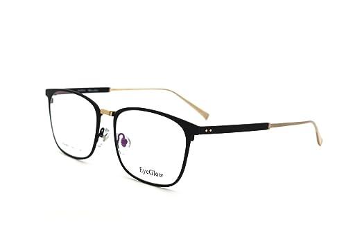 003612209d7 EyeGlow Rectangle Eyeglasses Frame Prescription Glasses Frame Demo Lens 8502