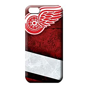 iphone 6 normal mobile phone carrying covers Scratch-proof Appearance New Snap-on case cover detroit redwings
