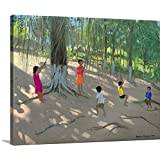 Andrew Macara Premium Thick-Wrap Canvas Wall Art Print entitled Tree Swing, Elephant Island, Bombay, 2000