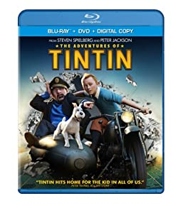 Cover Image for 'Adventures of Tintin (Two-Disc Blu-ray/DVD Combo + Digital Copy), The'