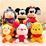 Best Disney Hair Brushes - Disney Mickey Mouse Minnie Stuffed Animals 20 CM Review