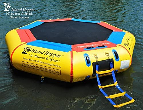 Island Hopper 10'-The Best Smaller Water Trampoline